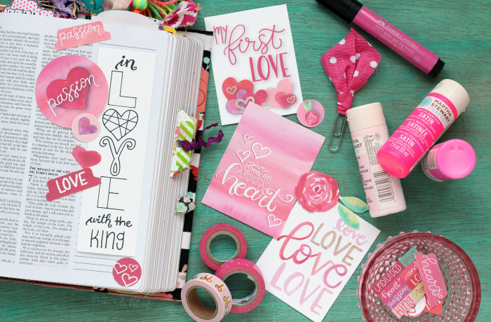 Bible Journaling Printable Love