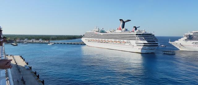 Cozumel - Anfahrt auf International Pier
