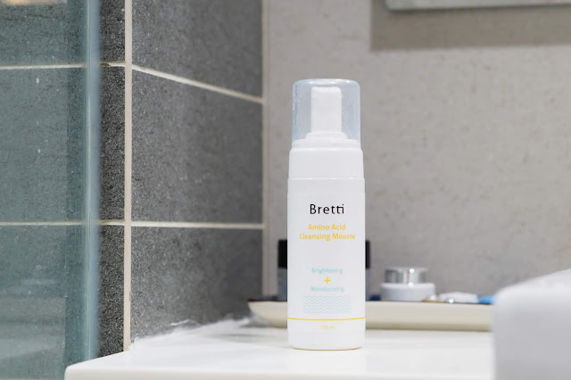 Bretti skincare Amin Acid Cleansing Mousse malaysia beauty blogger cestlajez