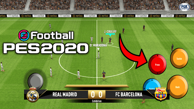 eFootball PES 2020 Mobile Patch V4.4.0 Android New Original Logos and Kits Update Best Graphics