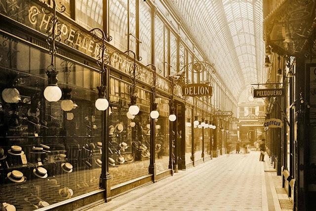 Gigi S French Window Parisian Shopping Galleries Les