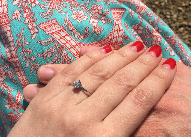 CiCi Marie engagement ring