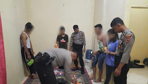 Siswa dan Siswi Tebo Digrebek Polisi Saat Pesta Miras