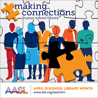 Making Connections at your school library. AASL. April is School Library Month. www.ala.org/aasl/slm