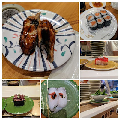 Japan for a week itinerary: Conveyor belt sushi