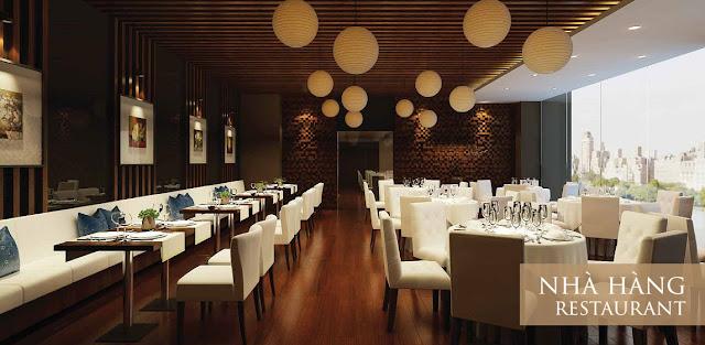 Nhà hàng tại Eco Lake View
