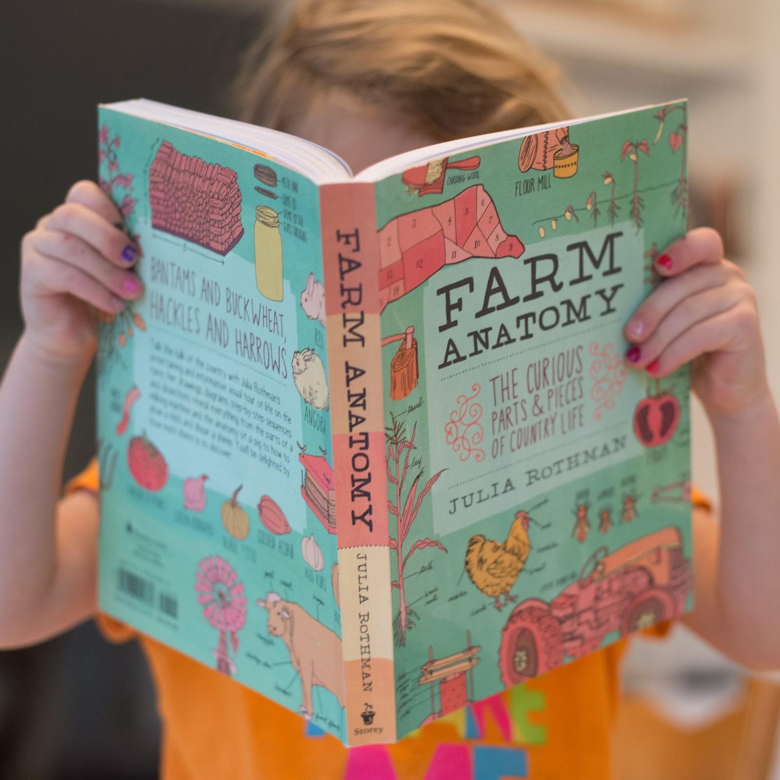 Family Book Recommendation- Farm Anatomy- Animals, Gardens ...