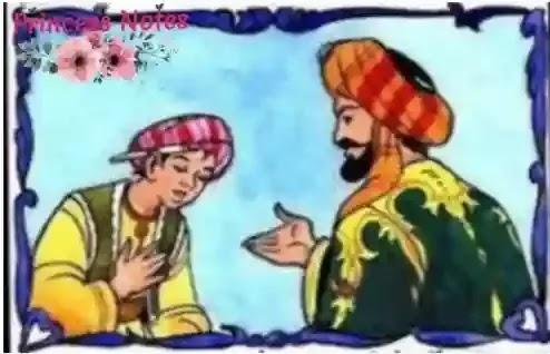 قال الملك لخادمه نفسي تشتهي أكلة باذنجان قصة الملك وخادم الباذنجان