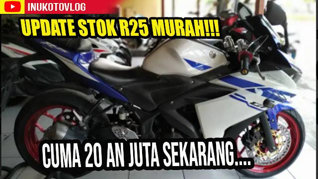 Harga Yamaha R25 Bekas Semarang Bekas Murah Tahun 2014 [ update 2021]