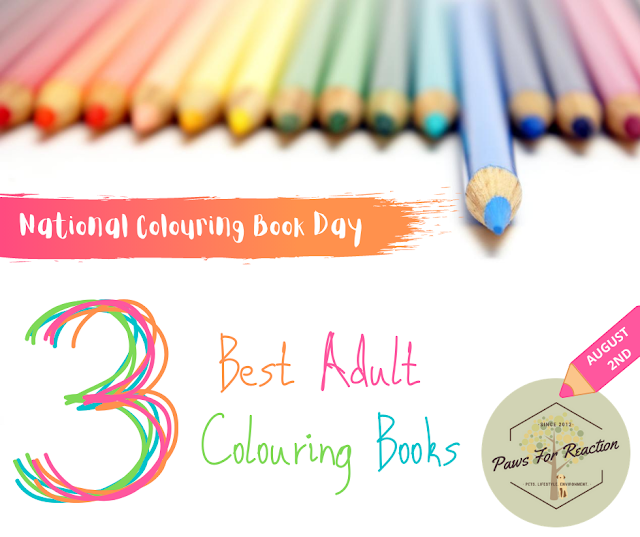 National Colouring Book Day: My three favourite adult colouring books