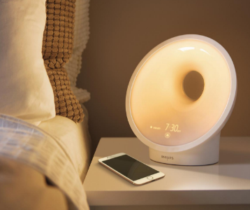 Philips smart sleep-connected sleep and wake-up light therapy lamps