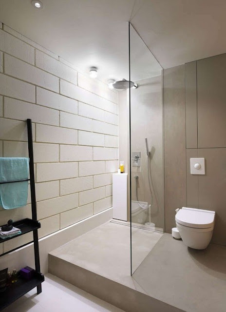 Compact Bathroom Interior Design