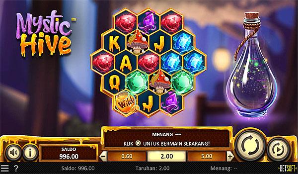 Main Gratis Slot Indonesia - Mystic Hive Betsoft