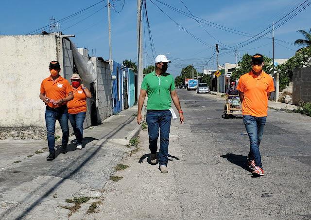 Vamos por la repavimentación de las calles de Mérida: Víctor Cervera