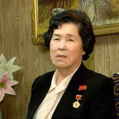 DPRK Labour Hero Kim Song Hwa