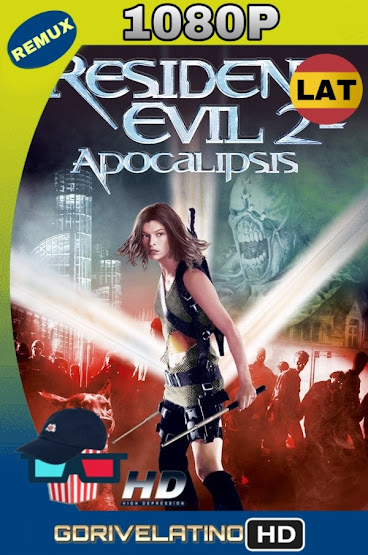 Resident Evil 2: Apocalipsis (2004) REMUX 1080p Latino-Ingles MKV