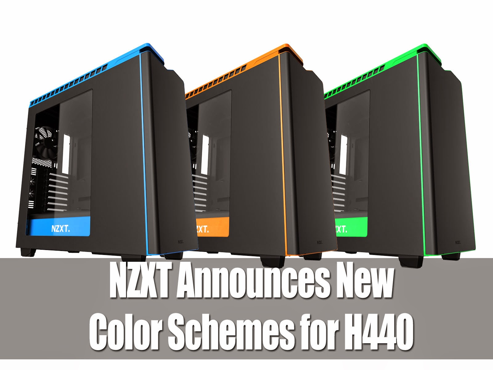 NZXT Announces New Color Schemes for H440 3