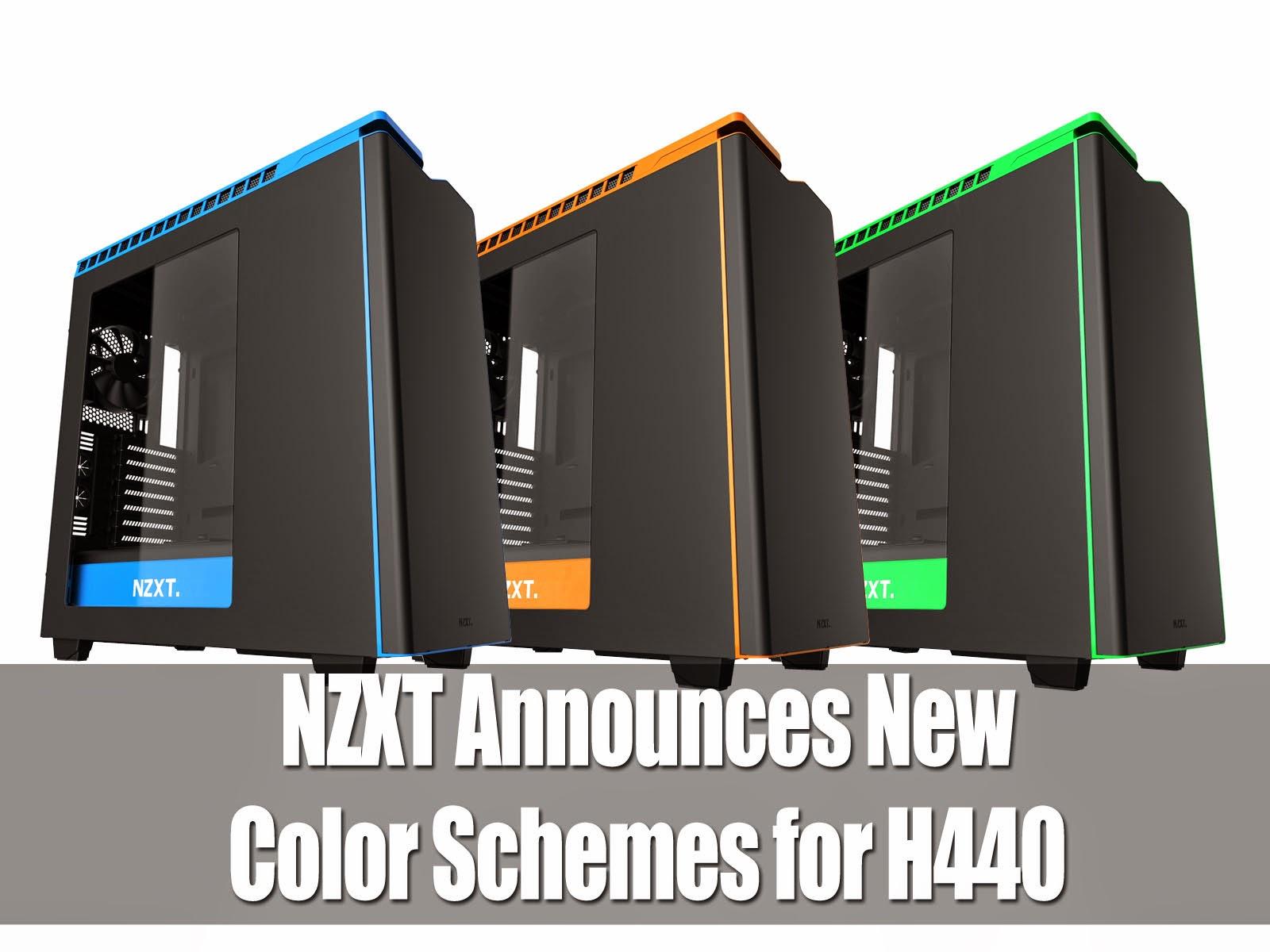 NZXT Announces New Color Schemes for H440 3