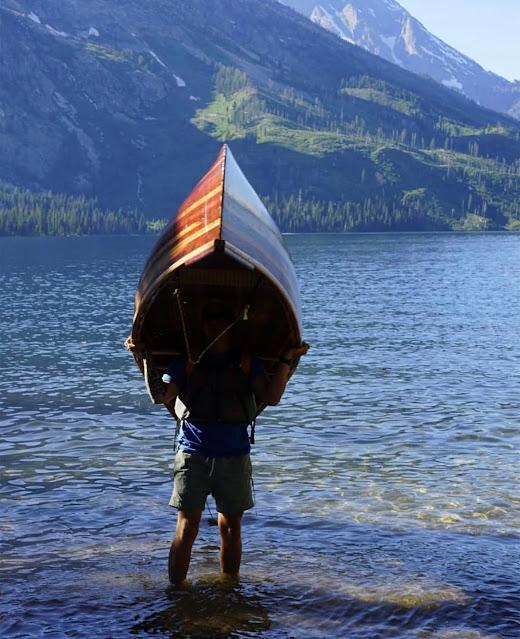 Canoe #03 Mountain Launch