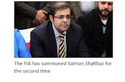 The FIA has summoned Salman Shahbaz for the second time