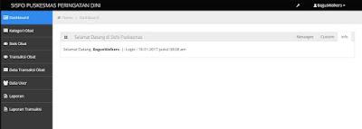 Download Source Code Aplikasi Puskesmas Menggunakan CodeIgniter