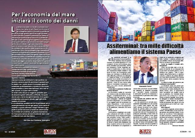 MARZO 2020 PAG. 12 - Per l'economia del mare inizierà il conto dei danni