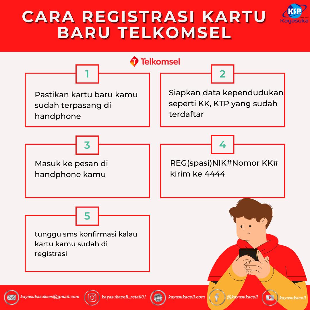 Jika kamu merupakan pengguna lama, maka cara registrasi ulang. Cara Registrasi Kartu Pedana Telkomsel, Gampang Banget ...