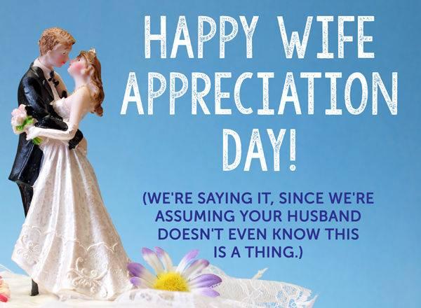 Wife Appreciation Day Wishes