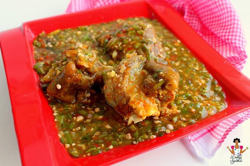 Image result for okra soup