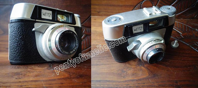 Rare Franka Werke Weitz camera compact manufactured in West Germany early 1960s.