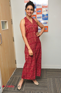 Actress Rakul Preet Singh Latest Pictures at Radio City  0131