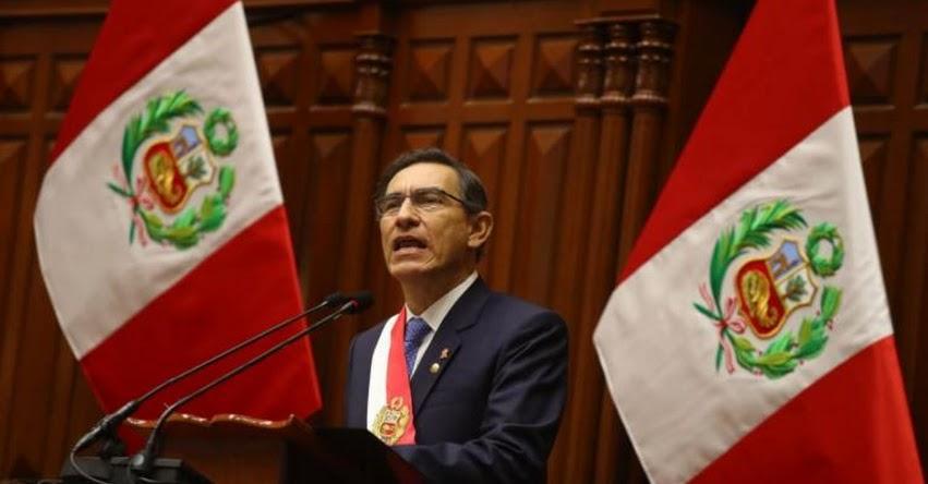 ADELANTO DE ELECCIONES GENERALES AL 2020: Presidente Vizcarra propone adelanto de Elecciones Presidenciales y Congresales, en Mensaje a la Nación [VIDEO]