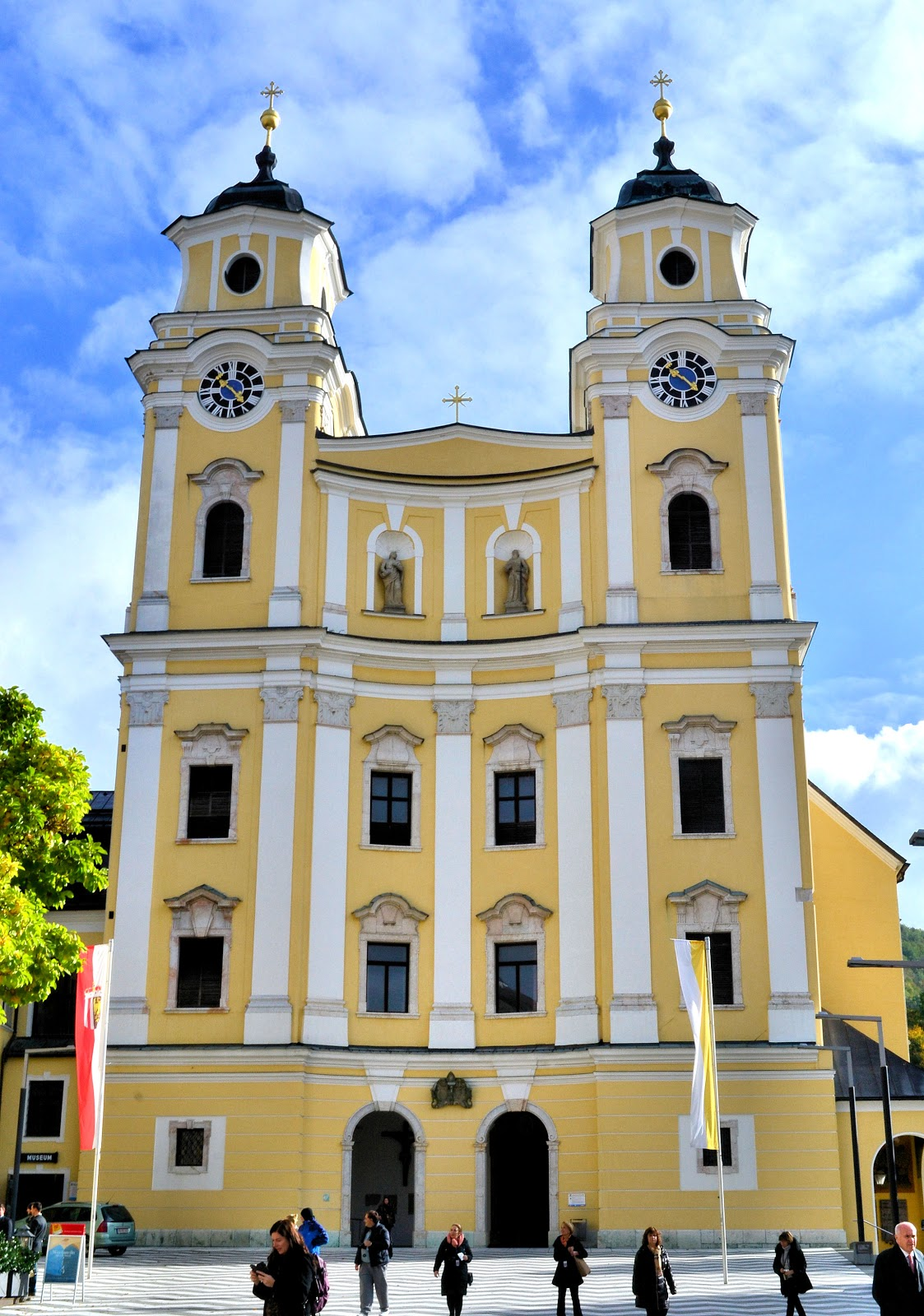 Saint Michael Church in Mondsee, Austria, was the location for the wedding scene in 'The Sound of Music.'