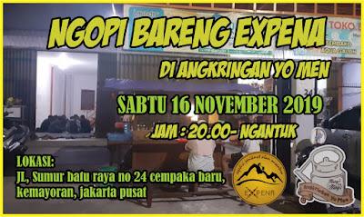 Ngopi Bareng Expena, di Angkringan Yo Men..