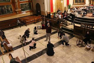 Menestrils Colla de Campaners Cant de la Sibil.la 2020 Ontinyent daça de la mort