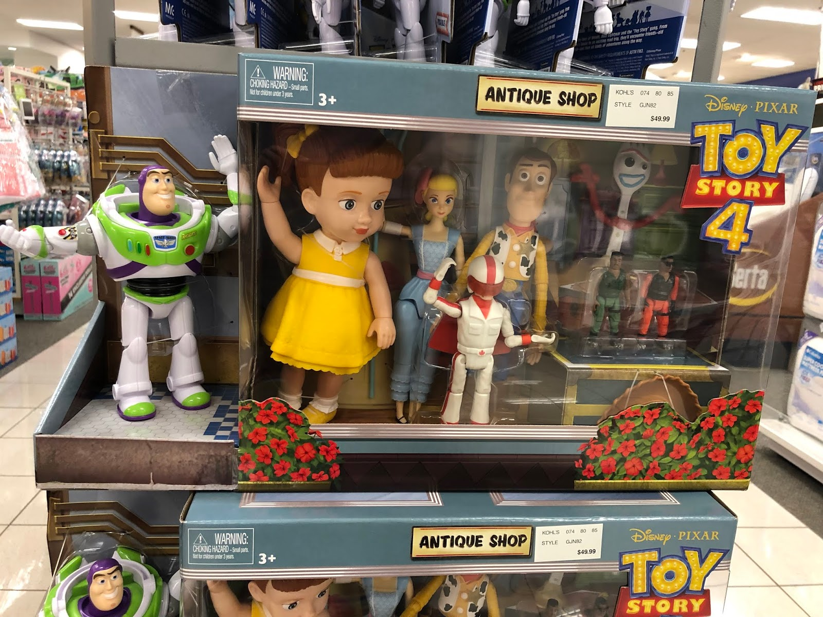 toy story 4 antique shop gift set