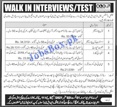 Online Apply on careers.nlc.com.pk