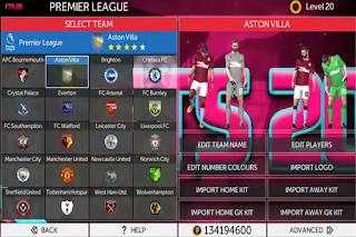 Anda jangan lupa untuk Unduh juga file  FTS 20 Mod Europa League Apk Data Obb