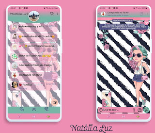 Girls Love Theme For YOWhatsApp & Fouad WhatsApp By Natalia Luz