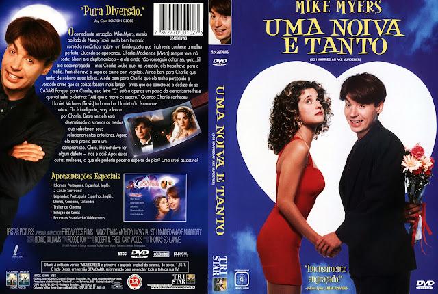 Capa DVD Uma Noiva e Tanto (Oficial)