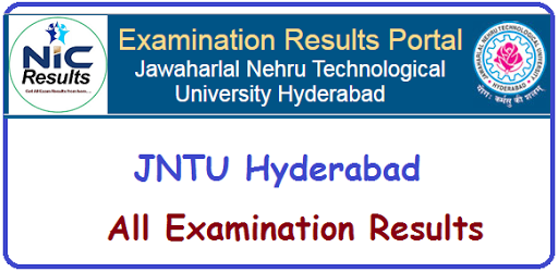 NIC JNTU Hyderabad Examination Results