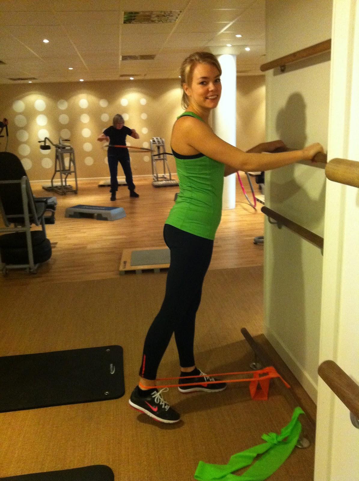 övningar rumpa lår gym