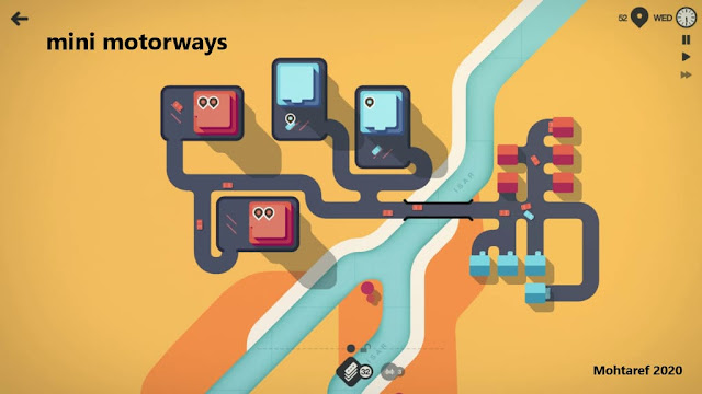 تحميل لعبة mini motorways للجوال