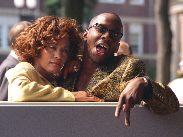 Who was whitney houston dating before bobby brown