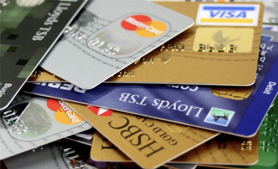 Lots of credit cards image