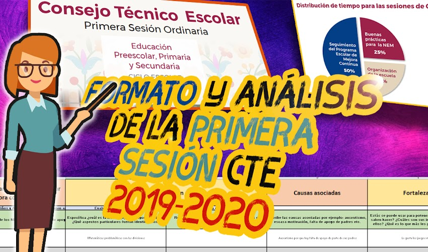 Primera sesión Ordinaria | Consejo Técnico Escolar 2019 – 2020