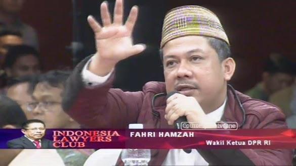 """Fahri Hamzah """"Sang Negarawan"""" Yang Paling Ditunggu di ILC"""