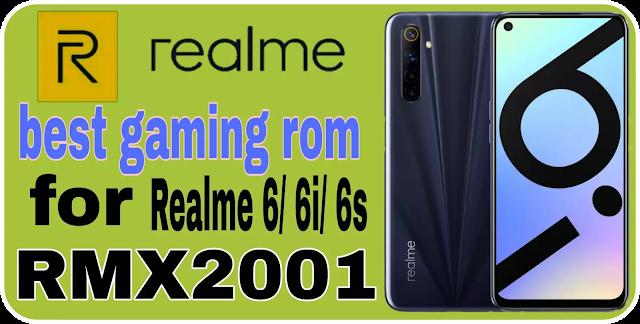 Dotos 5.0 | Realme 6/6i/6s RMX2001_ best gaming rom