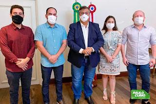 TURILÂNDIA: PREFEITO PAULO CURIÓ CONSEGUE UMA PRAÇA DA FAMÍLIA, ASFALTO E A INCLUSÃO DO MUNÍCIPIO NO PROGRAMA MAIS RENDA DO GOVERNO DO ESTADO.