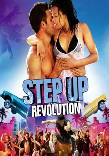 Step Up Revolution 2012 Dual Audio Hindi Eng BRRip 300MB Poster